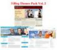 3 Blogs Themes Pack Vol. 2 (PLR)