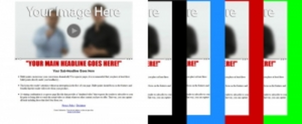 Product picture Teaser Opt-In Pages (PLR)