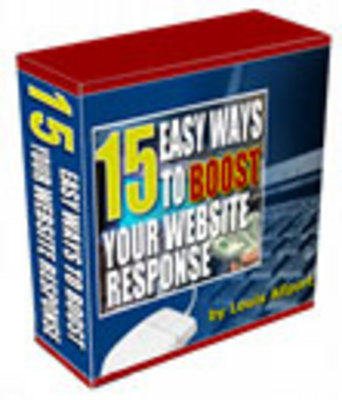 Product picture 15 Easy Ways to Boost your Website Response(RR)