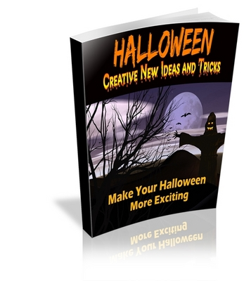 Product picture Halloween - Creative New Ideas and Tricks (MRR)
