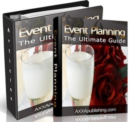 Product picture Event Planning - The Ultimate Guide (PLR)