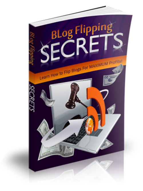 Product picture Blog Flipping Secrets MRR